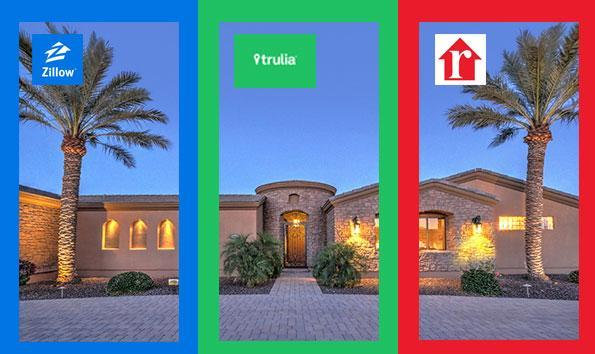 Featured postings on real estate websites